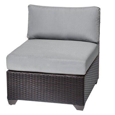 Barbados Slipper Chair Fabric: Grey