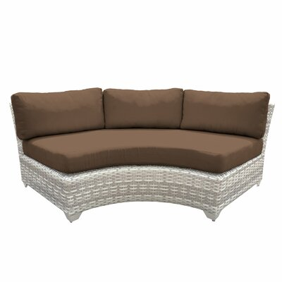 Fairmont Sofa with Cushions Fabric: Cocoa