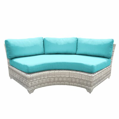Fairmont Sofa with Cushions Fabric: Aruba