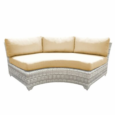 Fairmont Sofa with Cushions Fabric: Gray