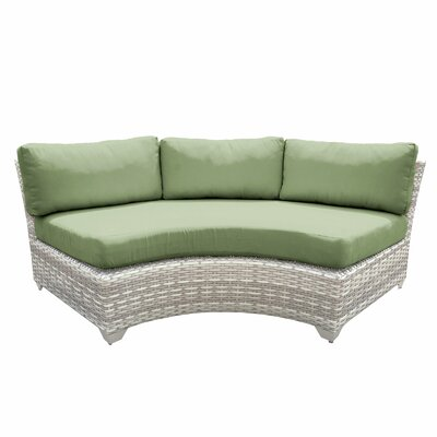 Fairmont Sofa with Cushions Fabric: Cilantro
