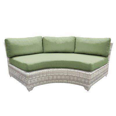 Fairmont Sofa with Cushions Fabric: Cilantro