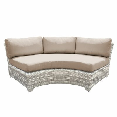 Fairmont Sofa with Cushions Fabric: Wheat