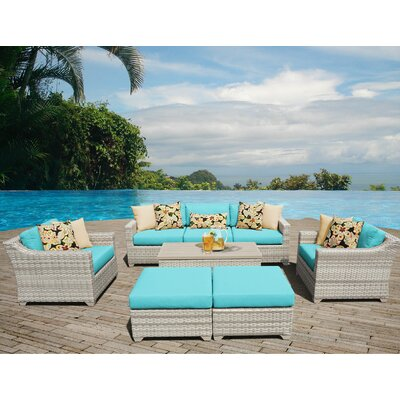 Fairmont Sectional Seating Group with Cushion Fabric: Aruba
