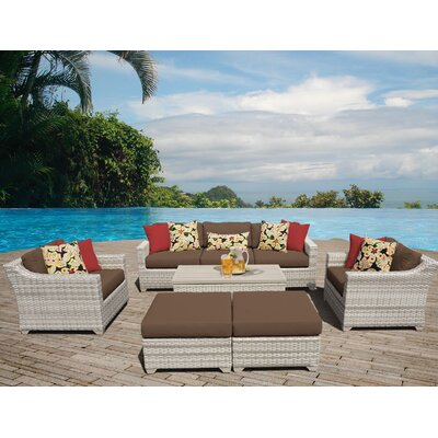 Fairmont Sectional Seating Group with Cushion Fabric: Cocoa
