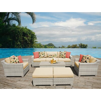 Fairmont Sectional Seating Group with Cushion Fabric: Sesame