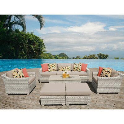 Fairmont Sectional Seating Group with Cushion Fabric: Wheat