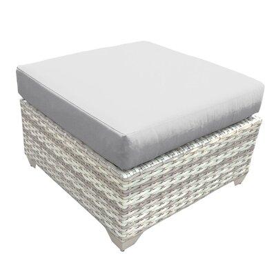 Fairmont Ottoman with Cushion Fabric: Gray
