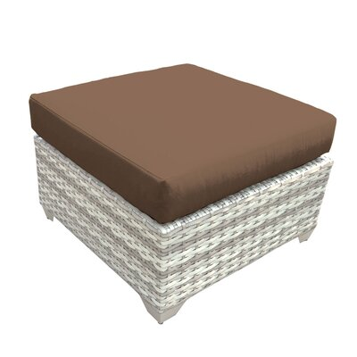 Fairmont Ottoman with Cushion Fabric: Cocoa