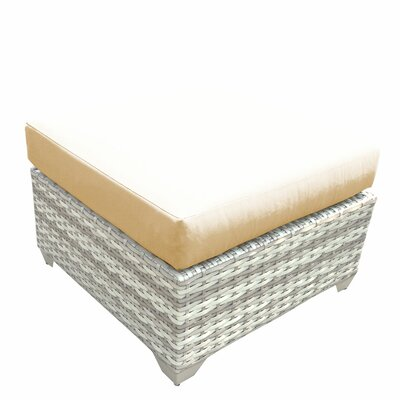 Fairmont Ottoman with Cushion Fabric: Sesame