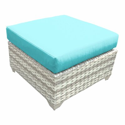 Fairmont Ottoman with Cushion Fabric: Aruba