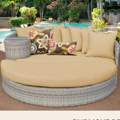 Fairmont Daybed with Cushions Fabric: Sesame
