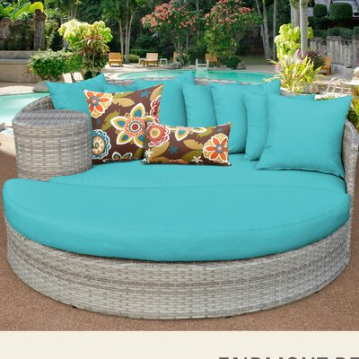 Fairmont Daybed with Cushions Fabric: Aruba