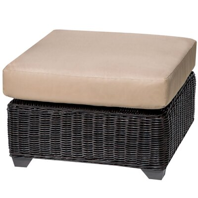 Venice Ottoman with Cushion Fabric: Wheat