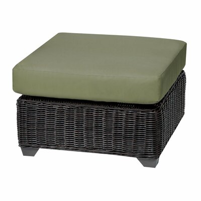 Venice Ottoman with Cushion Fabric: Cilantro