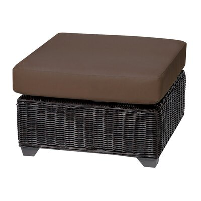 Venice Ottoman with Cushion Fabric: Cocoa