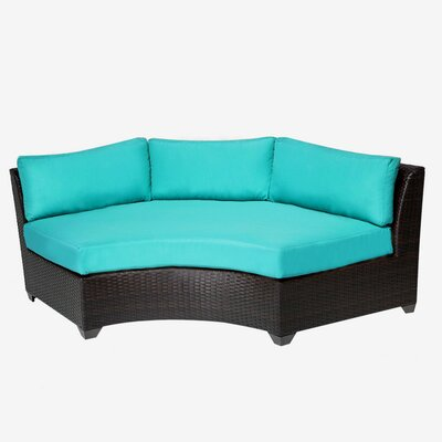 Barbados Sofa with Cushions Fabric: Aruba