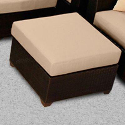 Barbados Ottoman with Cushion Fabric: Wheat