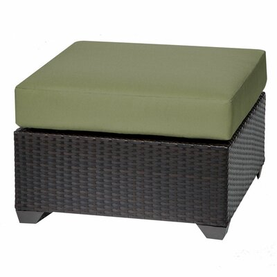 Barbados Ottoman with Cushion Fabric: Cilantro