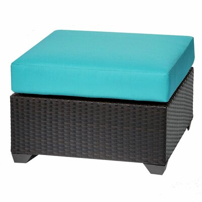 Barbados Ottoman with Cushion Fabric: Aruba