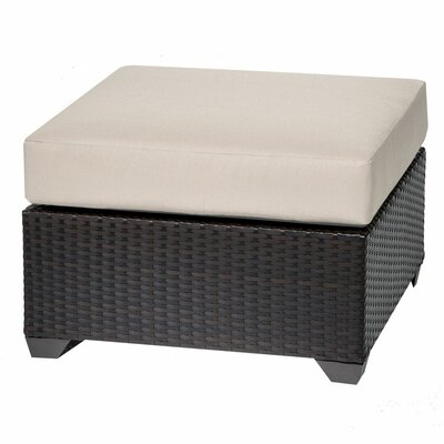 Barbados Ottoman with Cushion Fabric: Beige