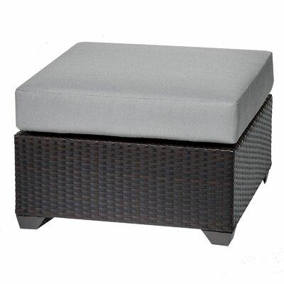 Barbados Ottoman with Cushion Fabric: Grey