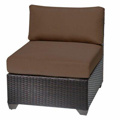 Barbados Slipper Chair Fabric: Cocoa