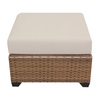 Laguna Ottoman with Cushion Fabric: Beige
