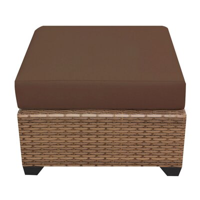Laguna Ottoman with Cushion Fabric: Cocoa