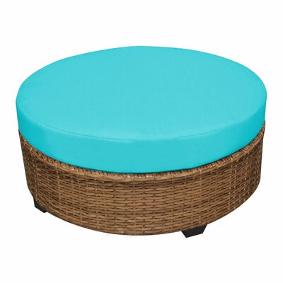 Laguna Ottoman with Cushion Fabric: Aruba