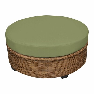 Laguna Ottoman with Cushion Fabric: Cilantro