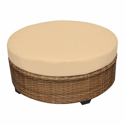 Laguna Ottoman with Cushion Fabric: Sesame