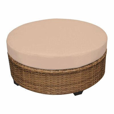 Laguna Ottoman with Cushion Fabric: Wheat