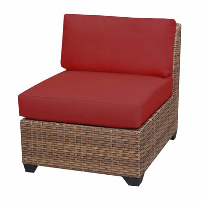 Laguna Slipper Chair Fabric: Terracotta