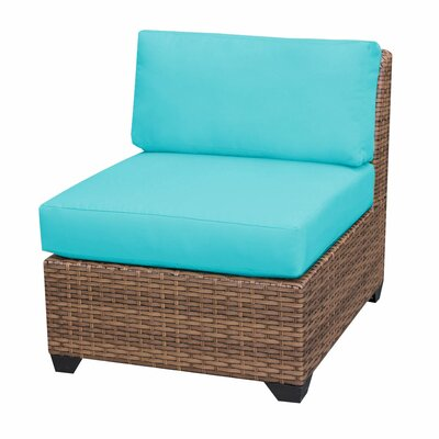 Laguna Deep Seating Group with Cushions Fabric: Aruba