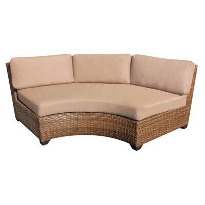 Laguna Sofa with Cushions Fabric: Wheat