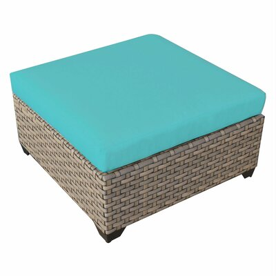 Monterey Ottoman with Cushion Fabric: Aruba