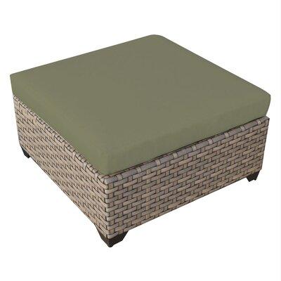 Monterey Ottoman with Cushion Fabric: Cilantro