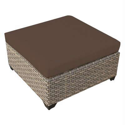 Monterey Ottoman with Cushion Fabric: Cocoa