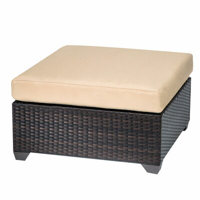 Belle Ottoman with Cushion Fabric: Sesame