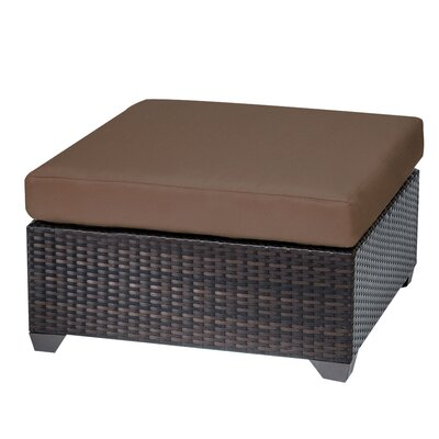 Belle Ottoman with Cushion Fabric: Cocoa
