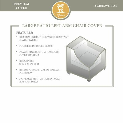 Left Arm Chair Cover