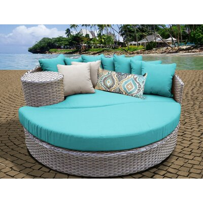 Daybed with Cushions Fabric: Aruba