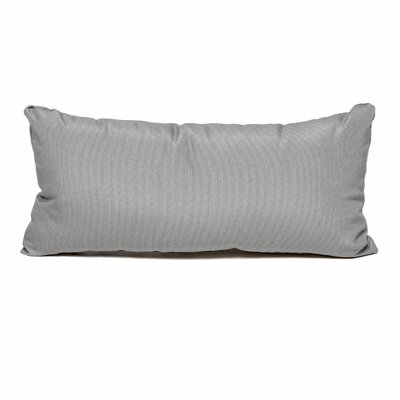 Outdoor Lumbar Pillow Color: Gray