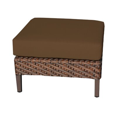Carmel Ottoman with Cushion Fabric: Cocoa