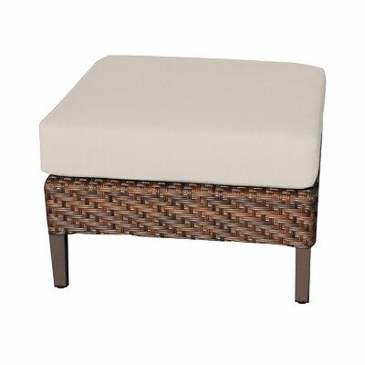 Carmel Ottoman with Cushion Fabric: Beige