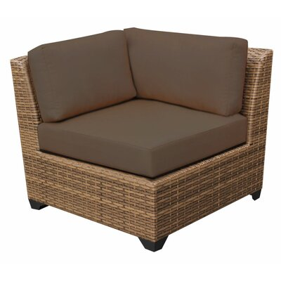 Laguna Deep Seating Group with Cushions Fabric: Cocoa