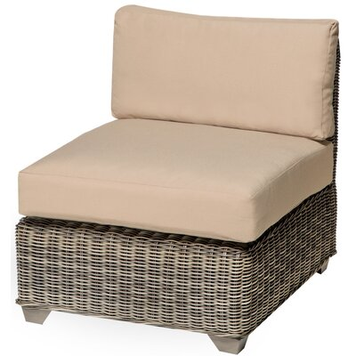 Holly Hill Slipper Chair and Ottoman Fabric: Wheat