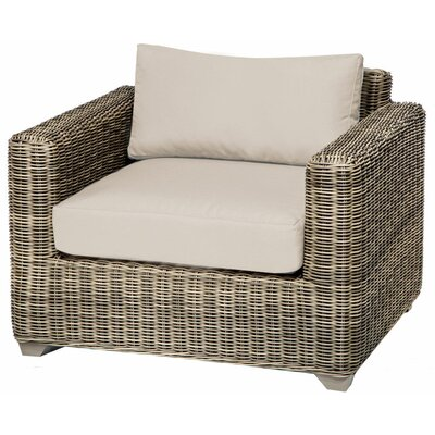 Holly Hill Slipper Chair and Ottoman Fabric: Beige