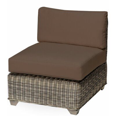 Holly Hill Slipper Chair and Ottoman Fabric: Cocoa